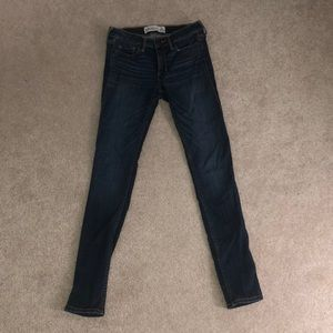 Abercrombie & Fitch Dark Wash Jeans